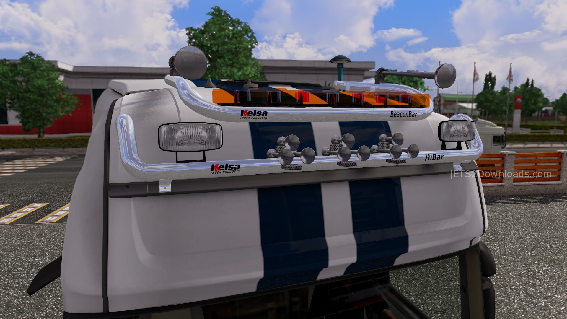 Kelsa Double Roofbar For Scania Ets2 Mods