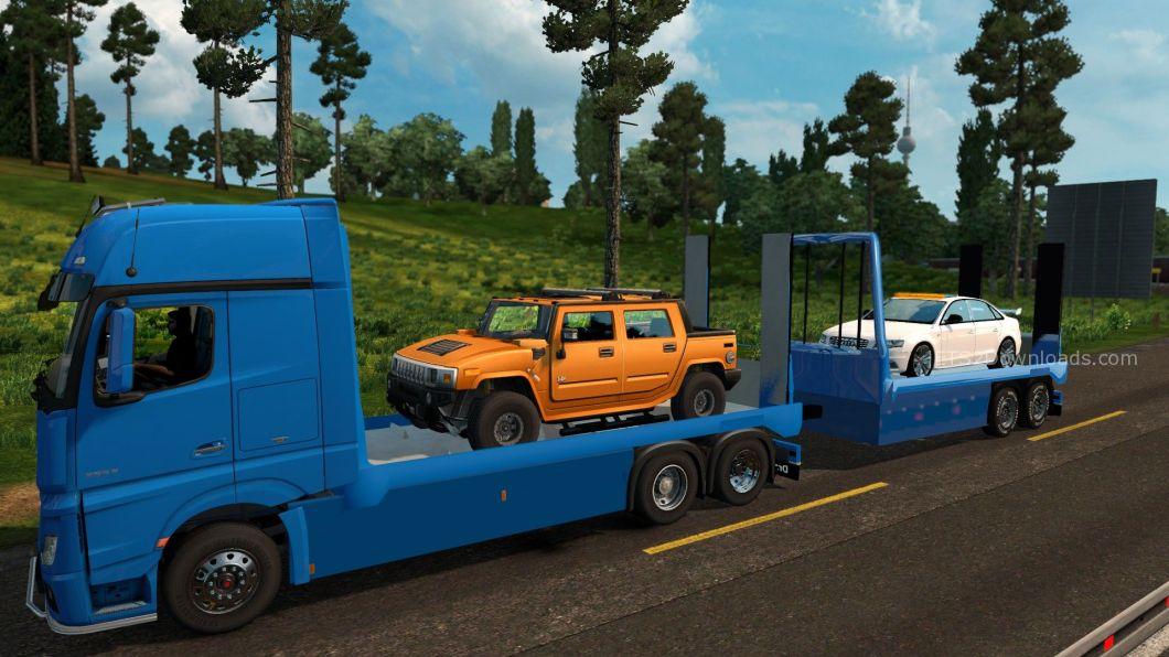flatbed-tandem-trailer-for-mercedes-benz-actros-mpiv