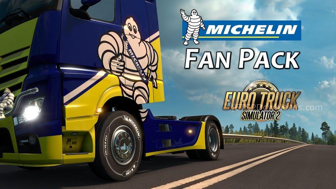 ETS2 Michelin Fan Pack DLC - ETS2 Mods