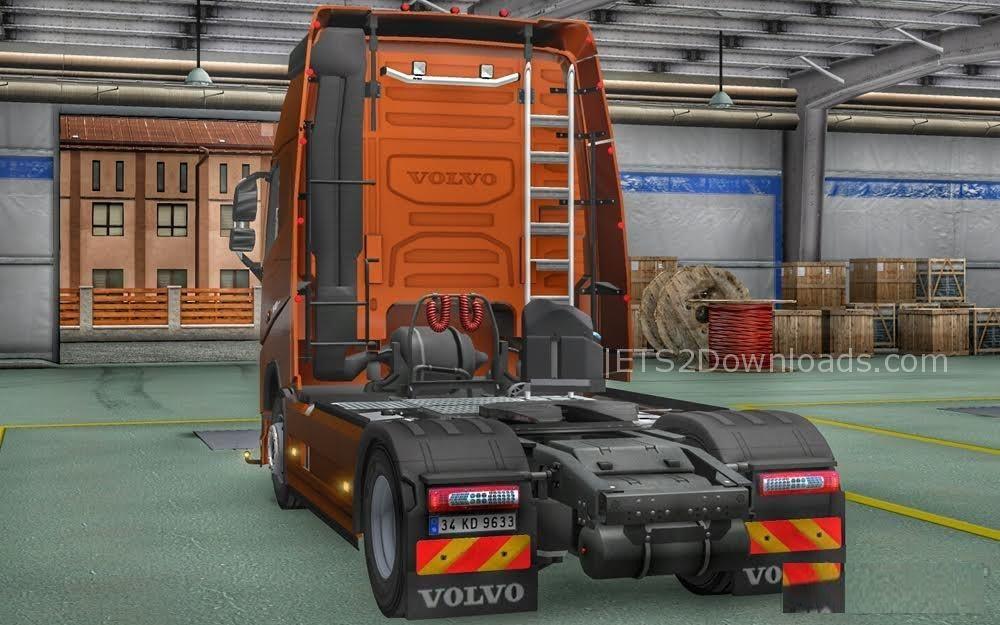 New Volvo FH16 Accessories + Interior v4.0 - ETS2 Mods