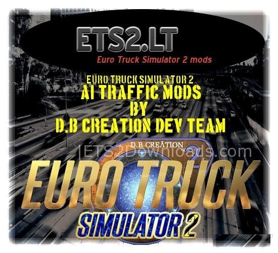 AI Traffic Mod By [D B Creation Dev Team Germany] - ETS2 Mods