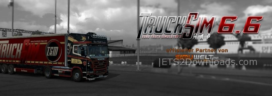 TSM Map v6 6 1 for Patch 1 28 x - ETS2 Mods
