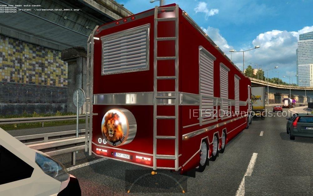 Standalone Caravanning Trailer v2 0 - ETS2 Mods