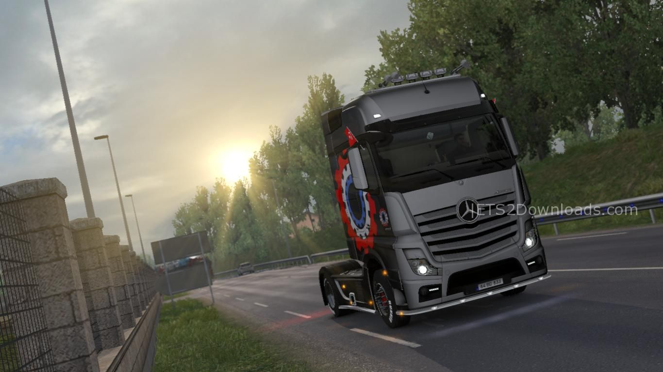 Realistic Graphics Mod by Frkn64 v1 9 1 - ETS2 Mods