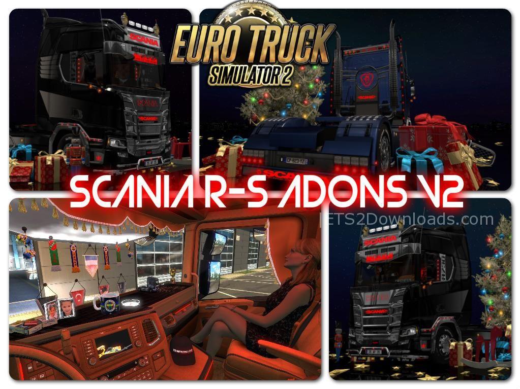 Scania R S Addons V2 1 30 Ets2 Mods