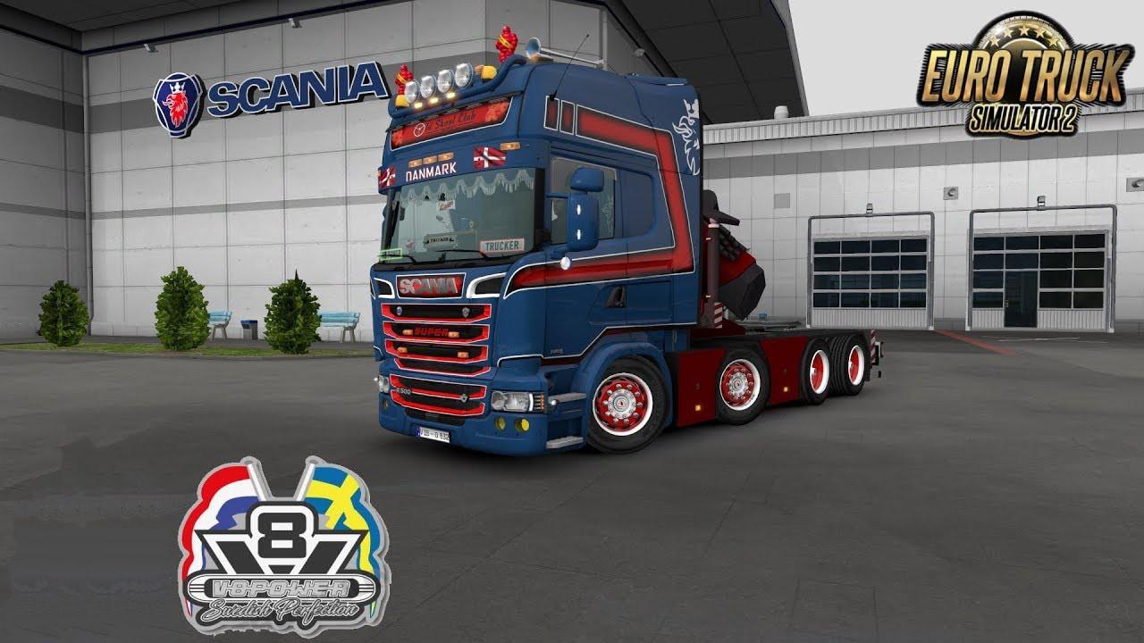 Scania Rjl Crane Addon V1 0 1 35 X Ets2 Mods Euro