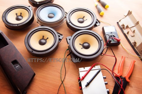 component and coaxial speakers
