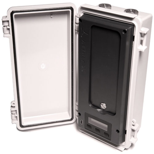 UV-IR Black Carbon monitor housed in an outdoor-rated case