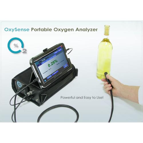 portable oxygen analyser