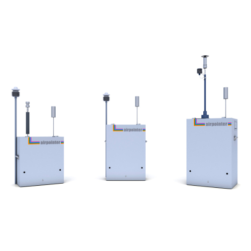 MLU - Recordum - Airpointer® compact air quality monitoring system
