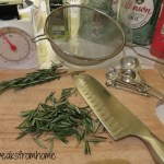Rosemary Focaccia Italian Bread with Pepper chopped rosemary