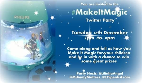 make it magic twitter party