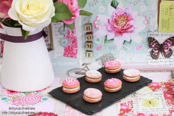 mini pink whoopie pie