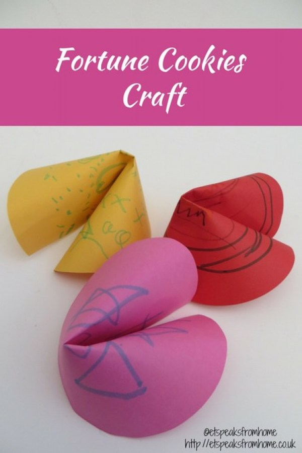 fortune cookies craft