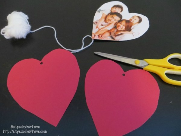 hanging hearts materials