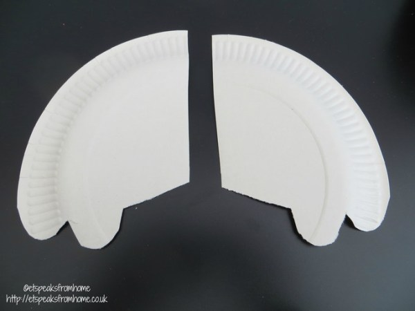 paper plate baymax arm