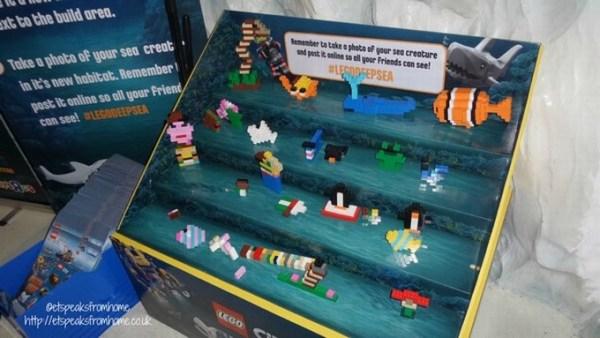 sea life centre building lego
