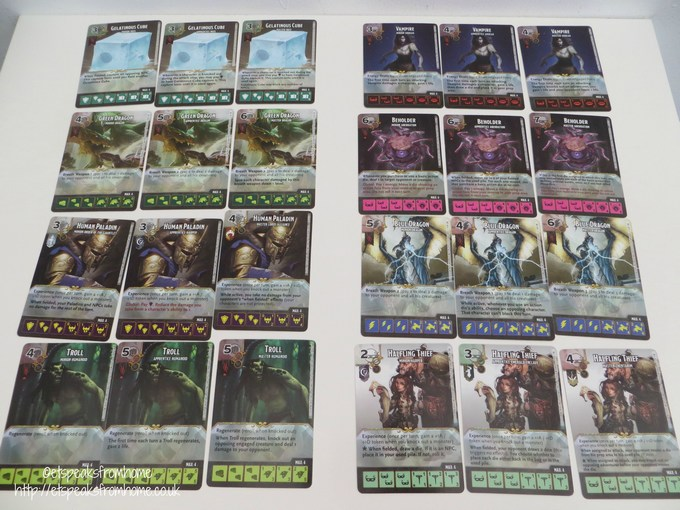 dice masters cards