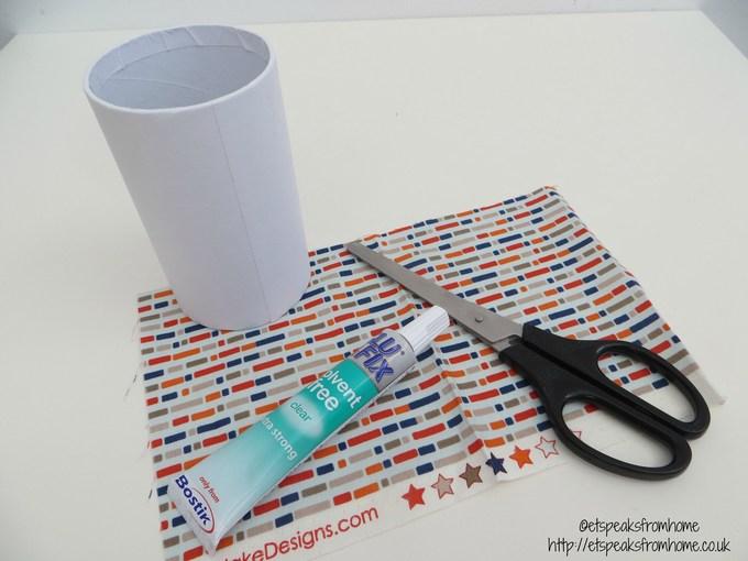 fabric pencil holder