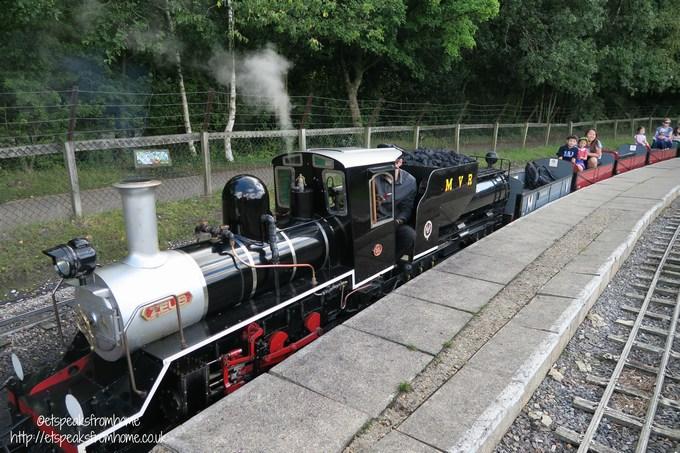moor valley steam train