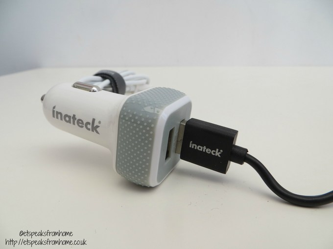inateck 2 port charger