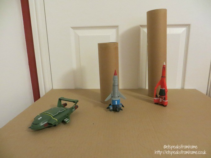 thunderbirds tracy island postal tube