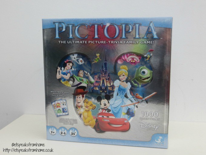 disney pictopia board game review