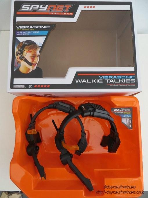 spy net walkie talkies