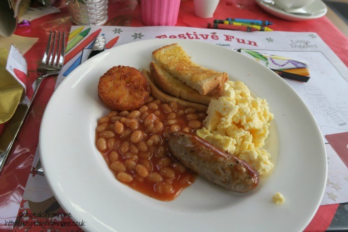 wyevale garden centre child breakfast