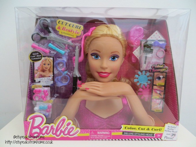 Barbie Colour, Cut & Curl deluxe styling head