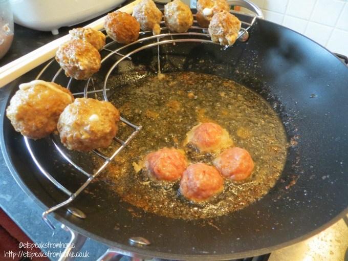scanpan wok deep fry