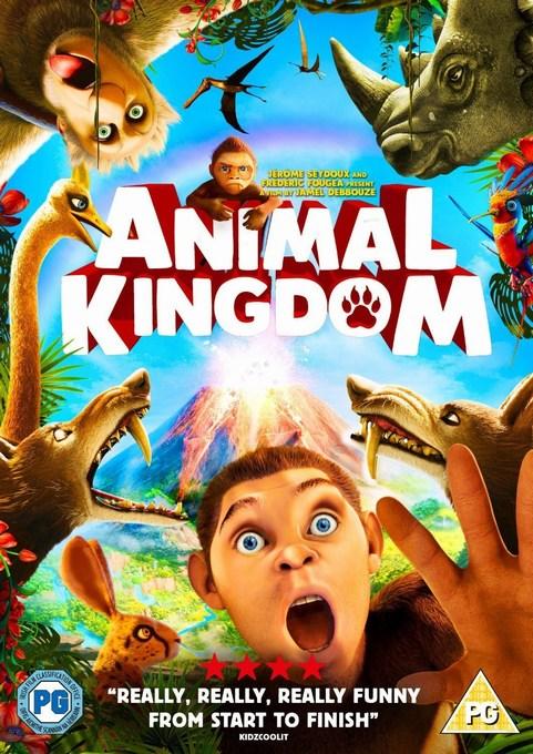 Animal Kingdom Lets Go Ape DVD