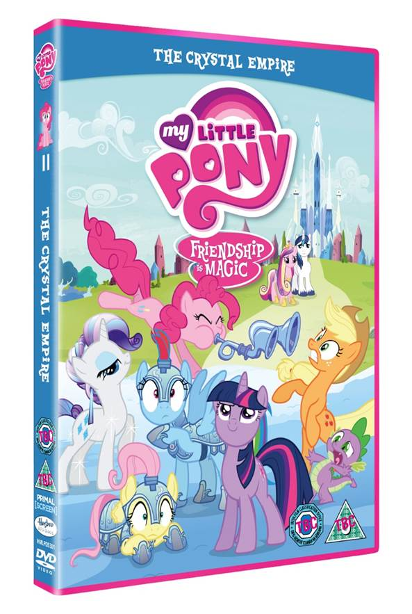 My Little Pony The Crystal Empire DVD