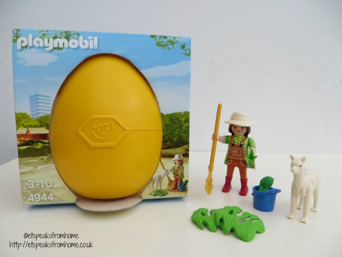 playmobil city life zookeeper with alpaca 4944