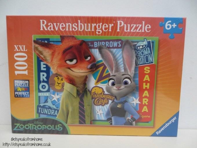 zootropolis ravensburger puzzle