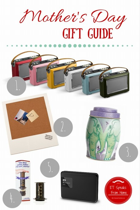 mother's day gift guide 2016
