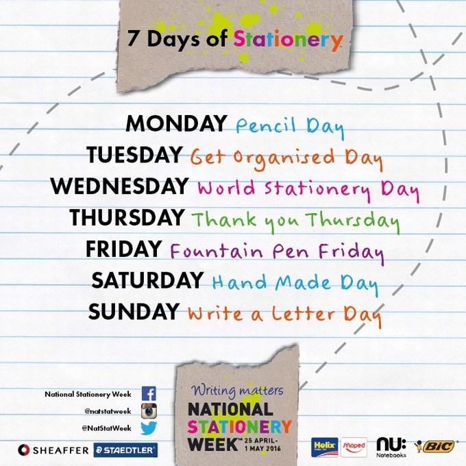 NSW 7 Days of Stationery