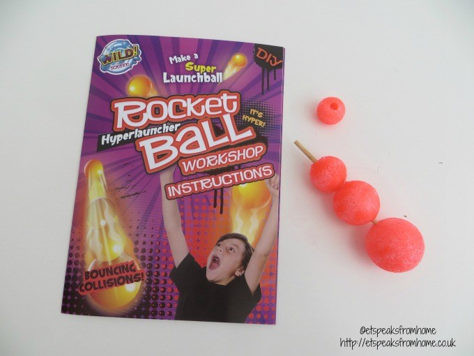 wild science rocket ball