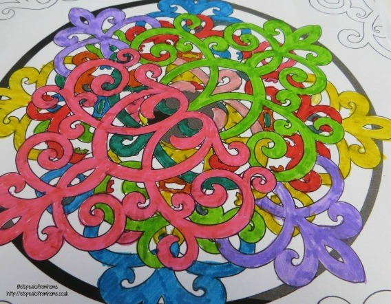 disney art therapy colouring