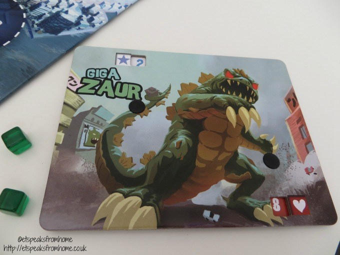 king of tokyo monster card
