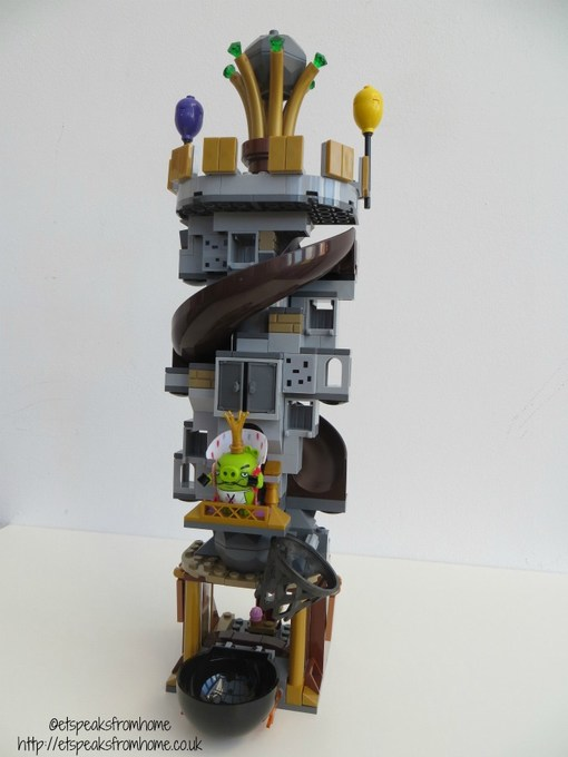 lego king pig castle golden crown tower