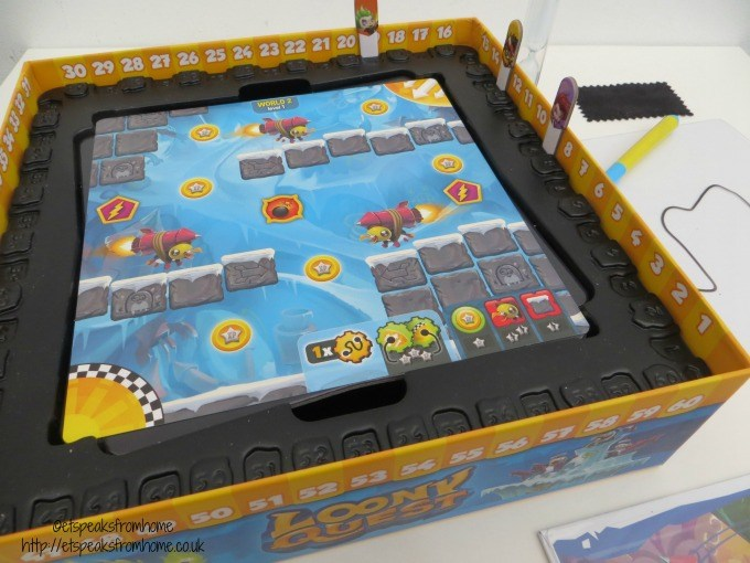 loony quest game console