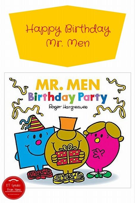 mr men. birthday