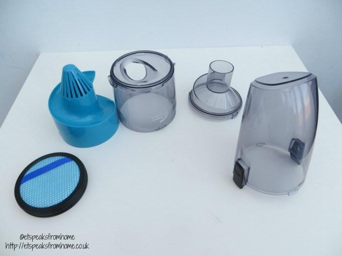 philips anti allergen powerpro aqua container
