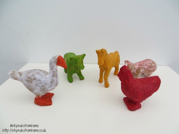 baker ross paper mache animals