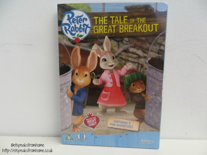 peter rabbit the tale of the great breakout dvd