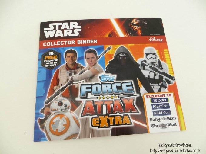 star wars topps collector binder