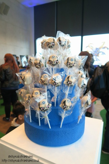 Skylanders Imaginators cake pop