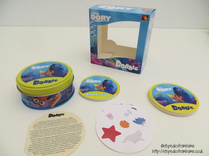 finding dory dobble review