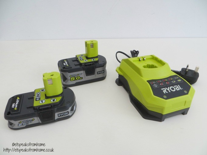 ryobi batteries and charger